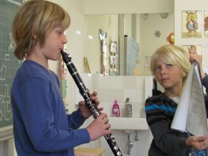 Musical mit Instrumenten