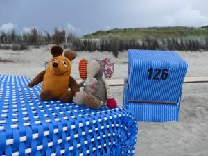 Maus Strandkorb 1